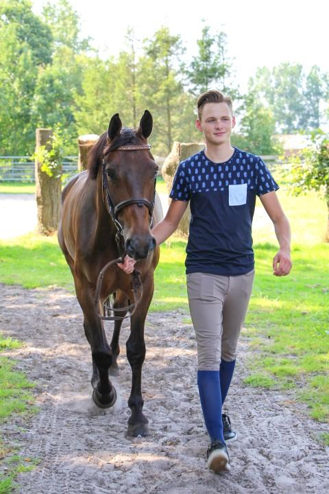Jongen met paard